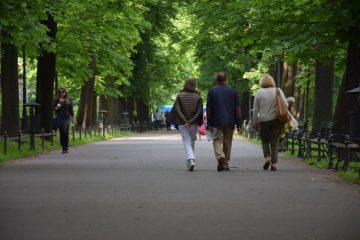 Parks in Krakow