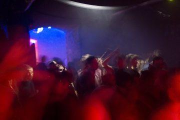 A scene in Alternative clubs in Krakow