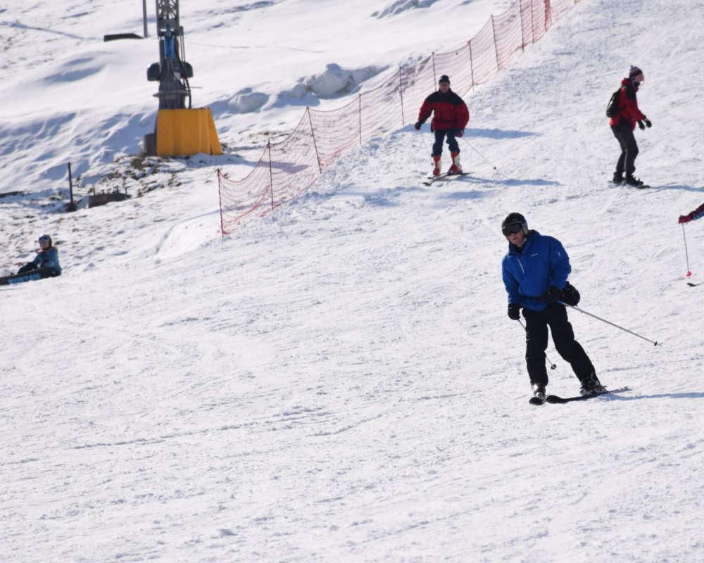 Bialka ski slopes near Zakopane
