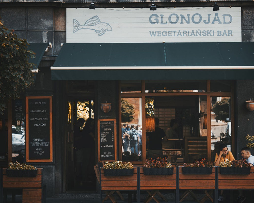 Glonojad Vegetarian Bar