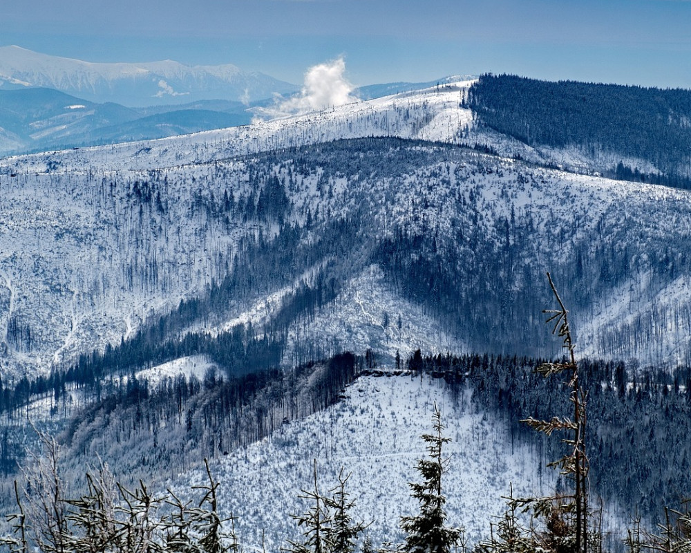 Beskid mountains
